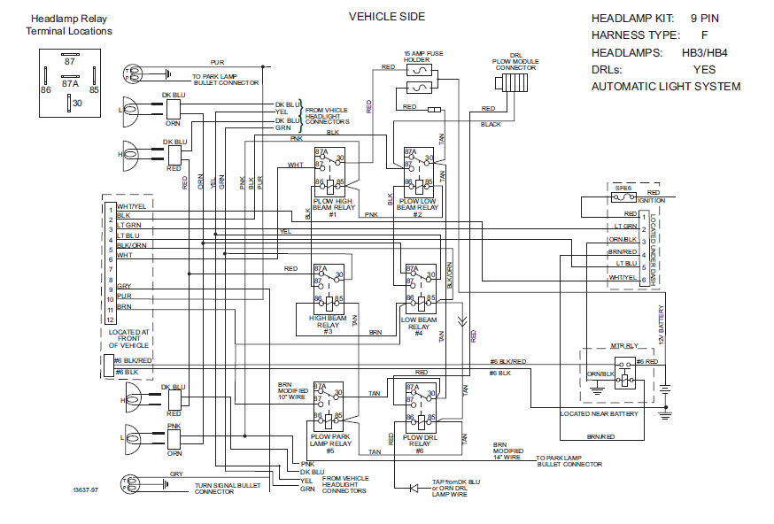 Blizzard Snow Plow Wiring Diagram Blizzard Snow Plow Coil