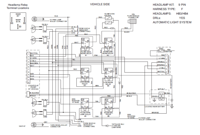 meyer snow plow wiring diagram along with western unimount