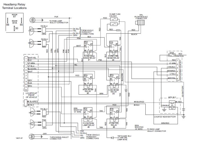 chevy western snow plow wiring diagram sony cdx gt56ui