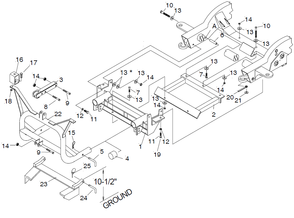 17111 Meyer EZ classic mount