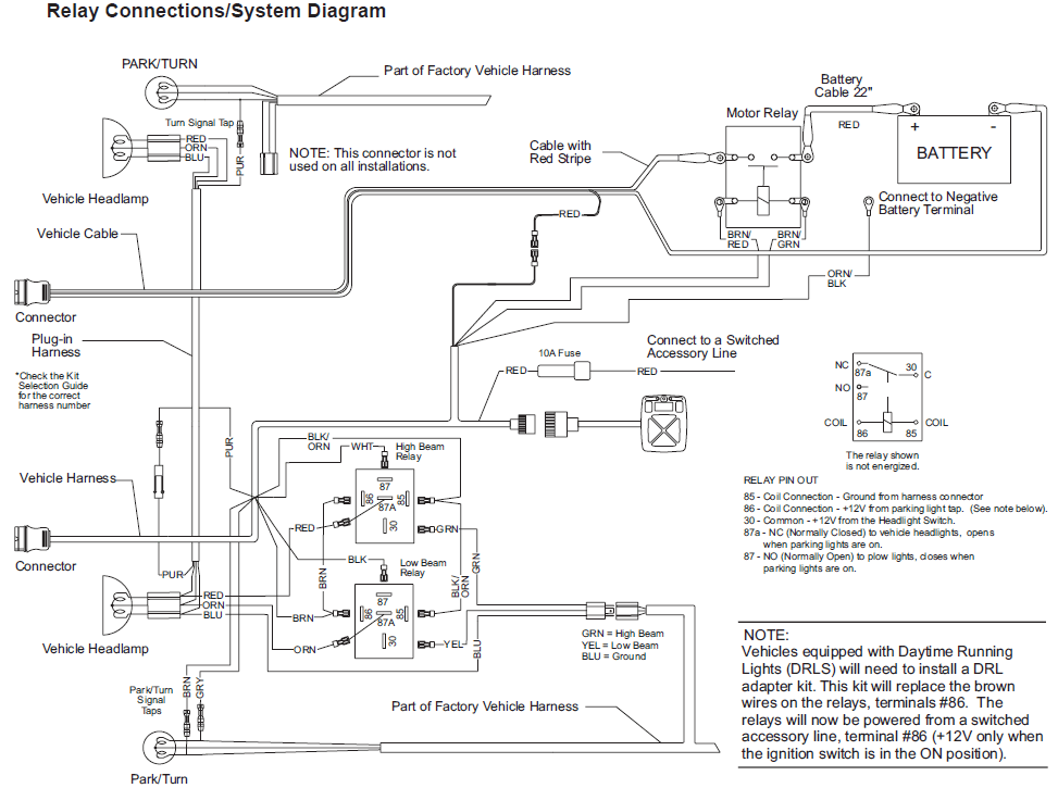 fisher plow wiring diagram minute mount 1 fire escape plan 66610 mvp western / unimount truck side 12 pin light harness ez- v