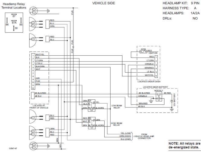 meyer plow wiring diagram meyer image wiring diagram meyer snow plow wiring diagram e58h the wiring on meyer plow wiring diagram