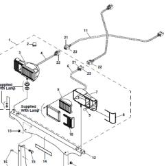 Meyer Snow Plow Headlight Wiring Diagram Advance T8 Ballast 96107986 Snoway Light Right Eis Head Lamp Harness Sno-way