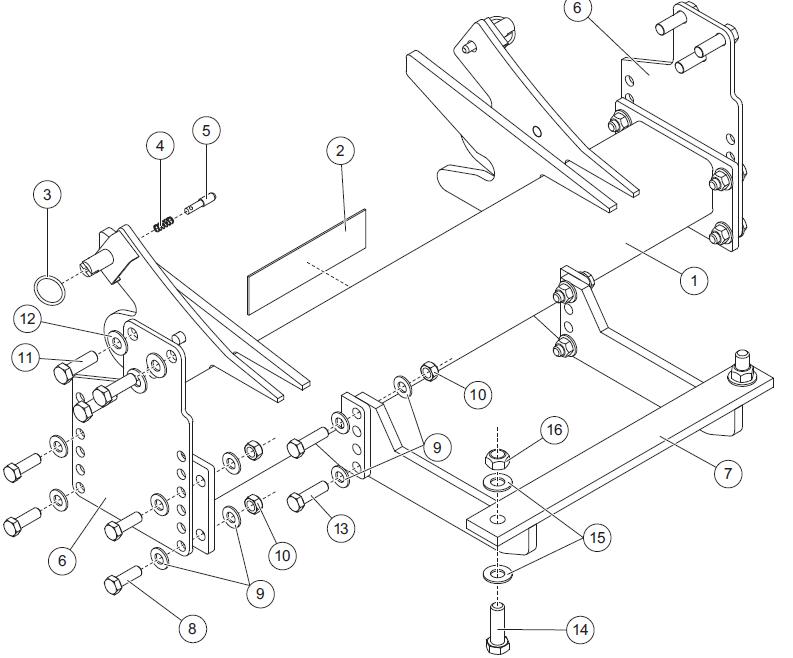 snowex wiring diagram 2500