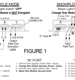 meyer e58 wiring diagram 07116 nite saber modulenite saber headlight module [ 1423 x 645 Pixel ]