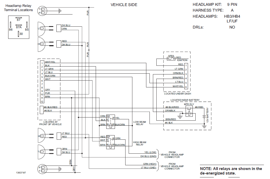 chevy western plow wiring diagram 98 integra alarm 1996 great installation of unimount rh 11 yoga neuwied de snow 9 pin