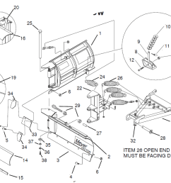 8 5 meyer ez vector v plow classic mount blade side only fisher plow moldboard fisher extreme v wiring schematic  [ 1177 x 765 Pixel ]