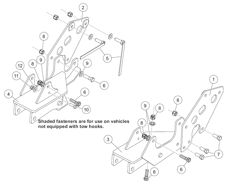 Western Ultra Mount Installation Instructions