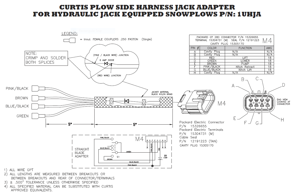 hight resolution of curtis jack adapter