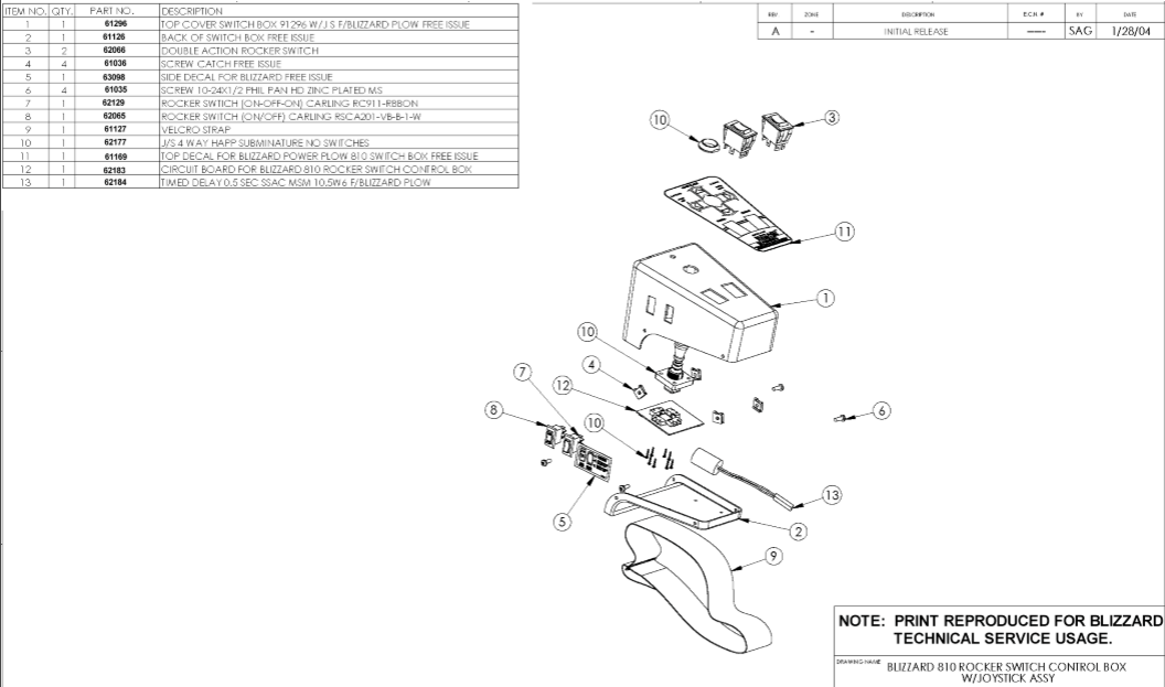 Blizzard Snow Plow Wiring Diagram