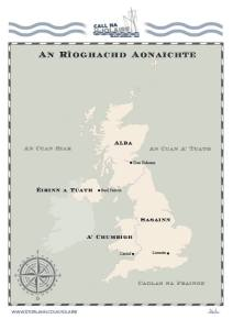 Iolaire Map - UK
