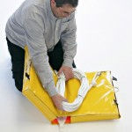 Folding the Storm-bag