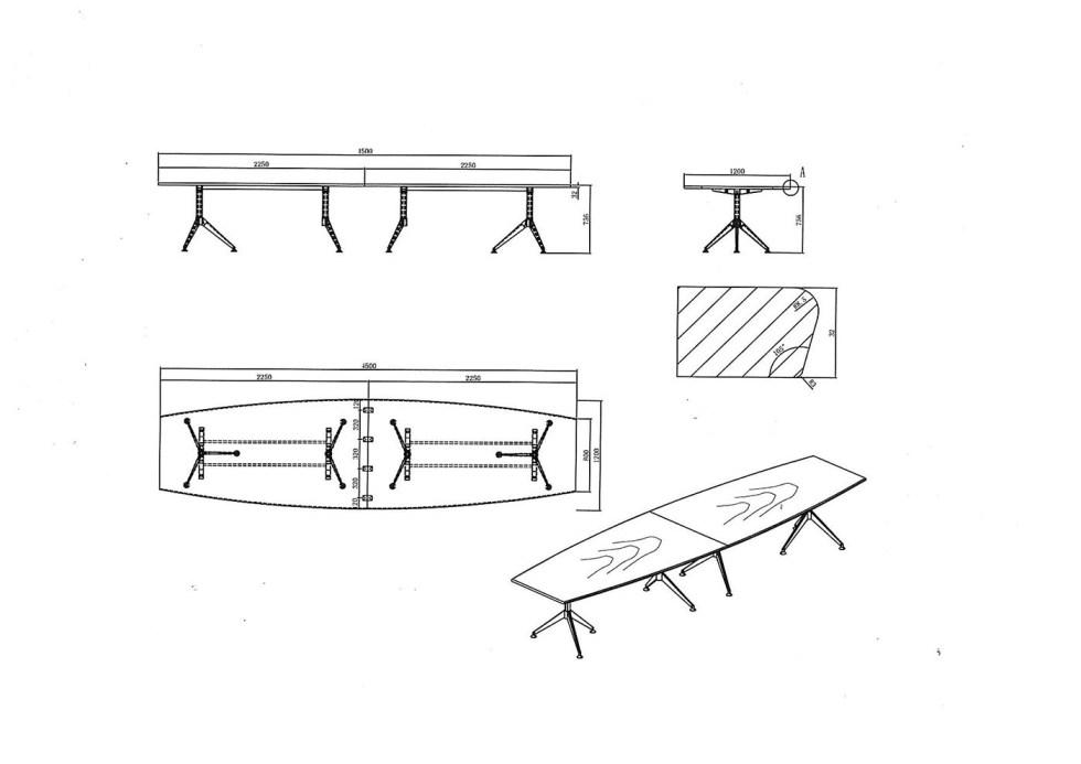 customised boardroom table