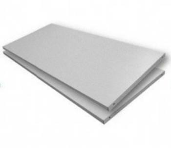tambour shelf silver