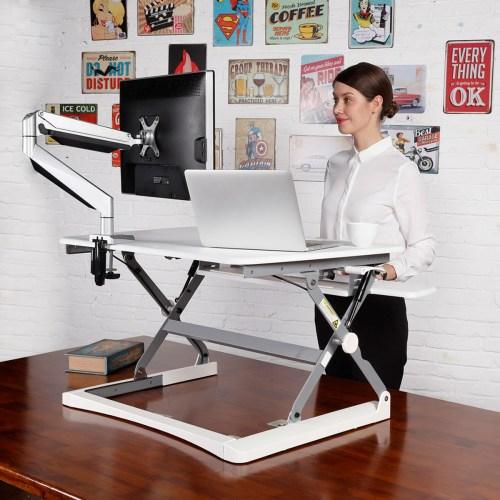 height adjustable desktop