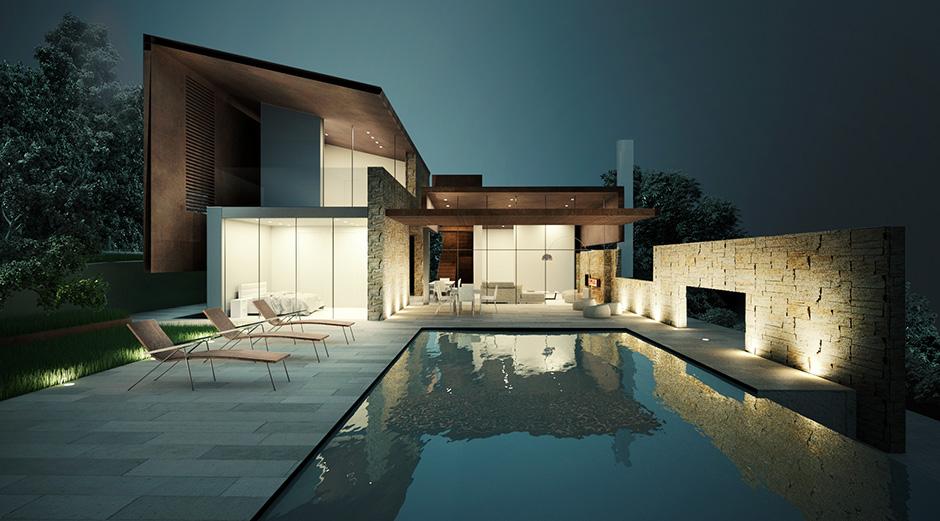 Casa Contemporanea in Toscana  Storm Studio Architecture