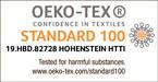 Oko-tex certified