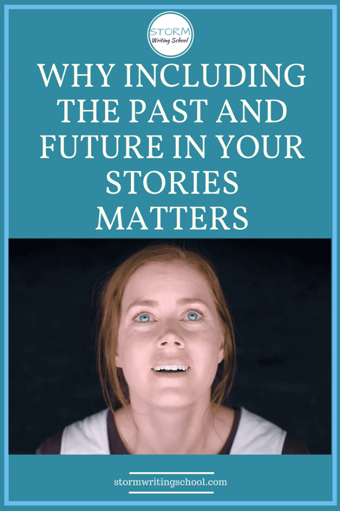Extremely helpful article about how digressions to the past and future affect your story | stormwritingschool.com