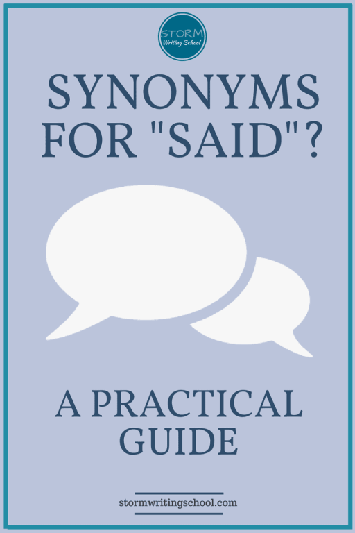 "Should you use synonyms for ""said""? Some writing advice claims ""said is dead""; others look disparagingly upon ""saidisms,"" the fancier cousins of ""said."" Here's the rule of thumb."