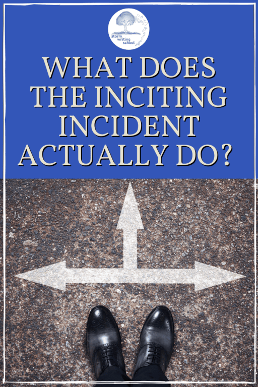 Finally, an article clarifying what the inciting incident really is. :: stormwritingschool.com #amwriting #writingcommunity #writingtips