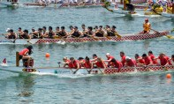 Dragon Boat races Stanley Beach Team Stormies