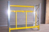 Vertical racking | Timber racks | pipe racks | conduit racks
