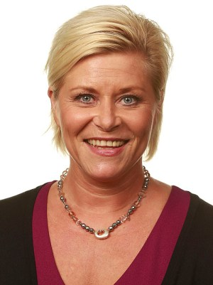 Siv Jensen, leader of the Progress Party. Photo courtesy of Stortinget.no.