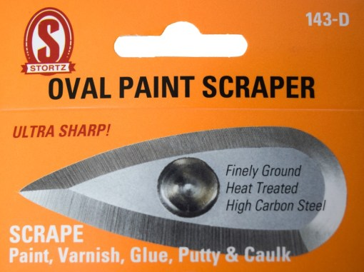 144-d oval paint scraper