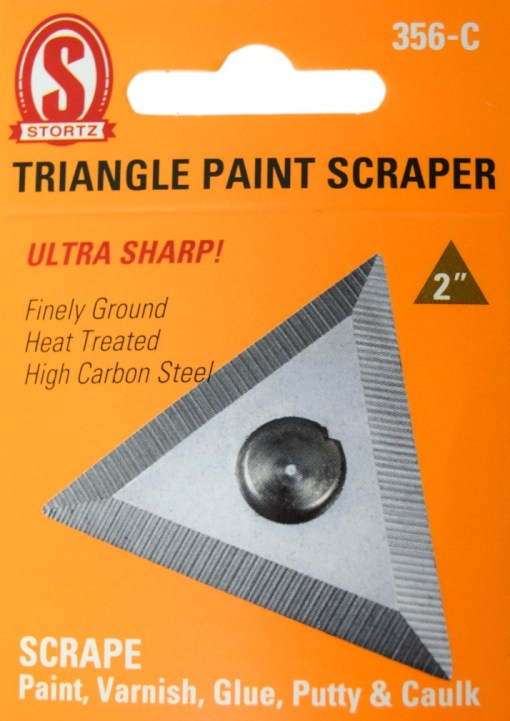 """356-C 2"""" Triangle Paint Scraper"""