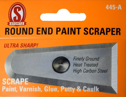 445-a round end paint scraper