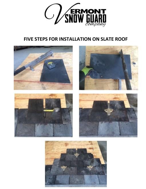 5 Step Slate Roof Installation