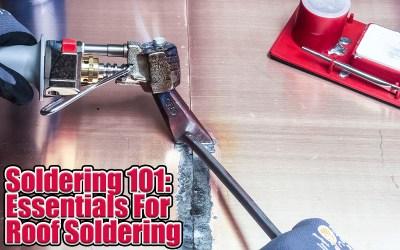 SOLDERING 101: Essentials for Roof Soldering