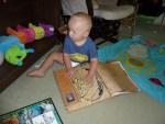 Xander reading