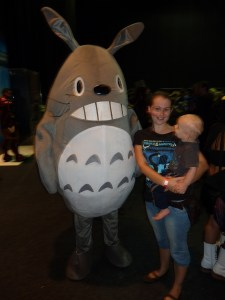In summer shorter pants may be required. Totoro cosplayer optional.