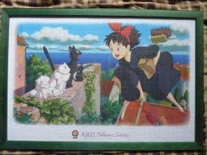 Kiki's Delivery Service 1,000 piece puzzle - complete at last!