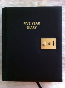 five year diary