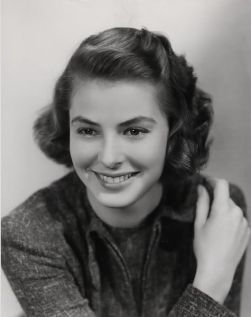 A young Ingrid