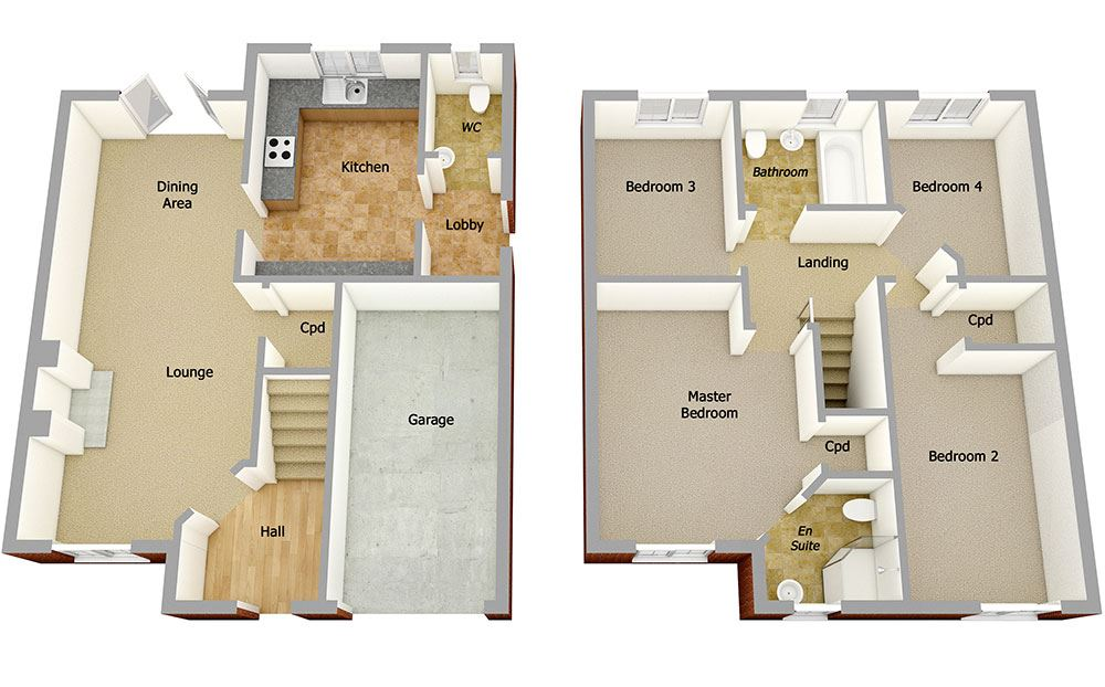 Our New House Types  2 3 4 5 Bedroom Homes  Story Homes