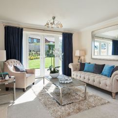 Living Room Show Homes White Side Tables For New Home Opens At Crindledyke Farm French Patio Doors In The