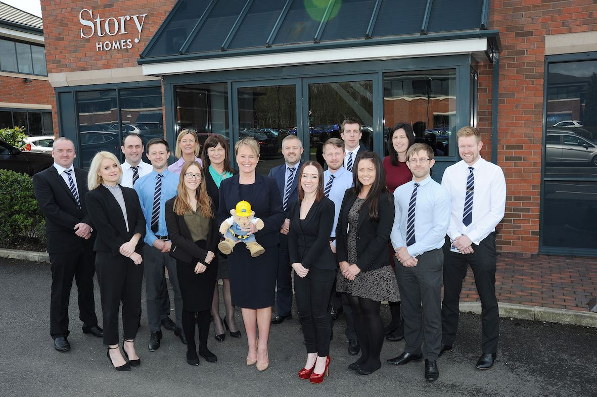 Nine new staff members join our team to help North West expansion