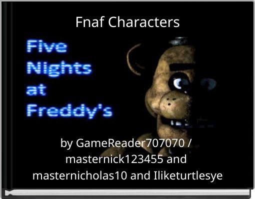 fnaf characters free books
