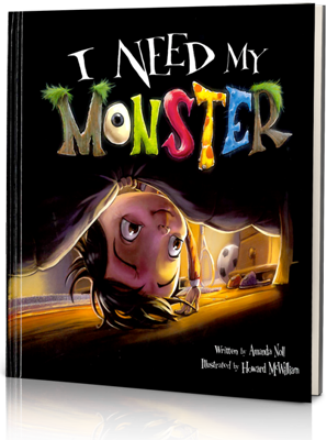I Need My Monster, written by Amanda Noll, Illustrated by Howard McWilliam, read by Rita Moreno