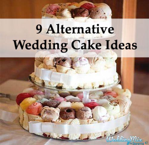 Alternative Wedding Cake Ideas Weddingmix