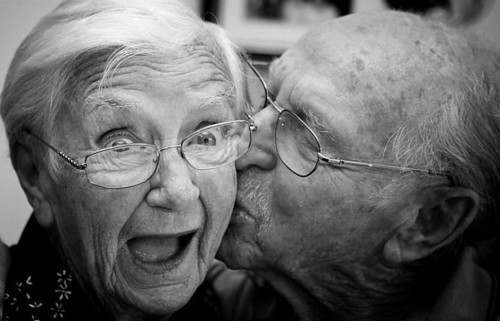Adorable Grandparents