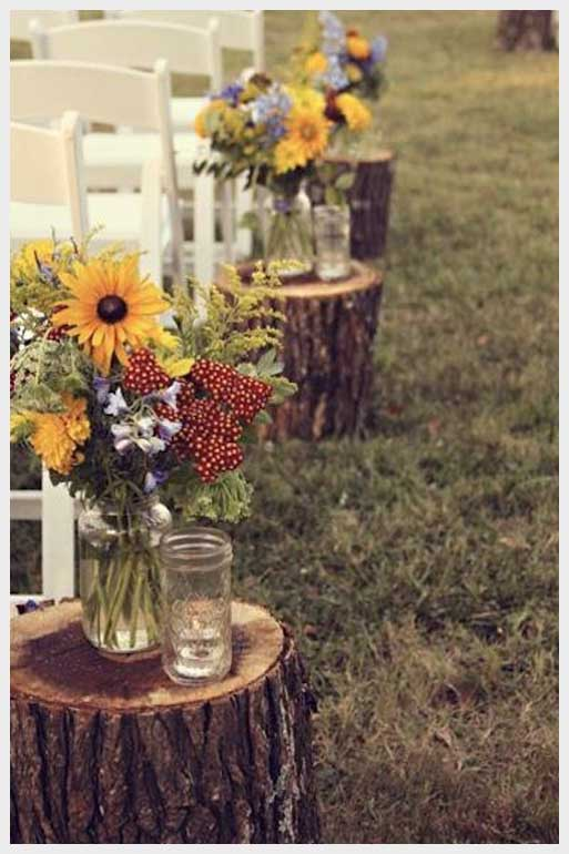 Country Style Wedding Idea