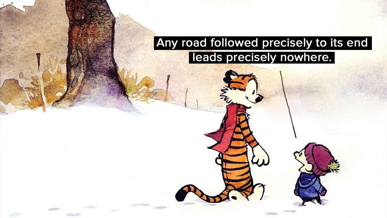 Calvin And Hobbes Wallpaper Quotes 15 Times Calvin And Hobbes Spoke Nothing But The Truth
