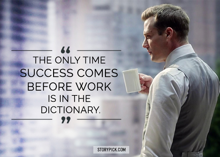 Harvey Specter Quotes Hd Wallpaper 15 Kickass Comebacks By Harvey Specter That Prove He Is