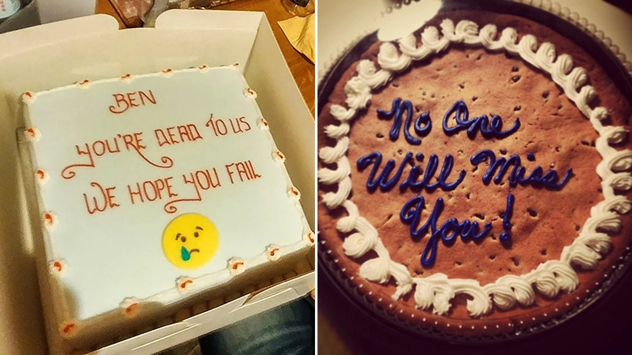 These 15 Cakes From Farewell Parties At Work Will