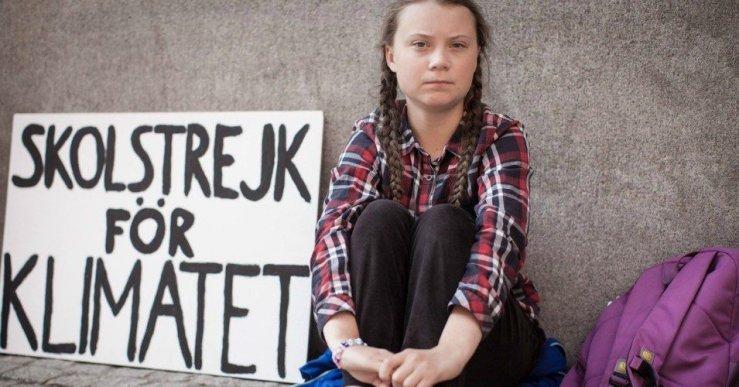 Greta Thunberg / Foto: #GretaThunberg