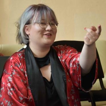 Danka Lalíková súčasťou medzinárodného tímu účastníkov na projekte Erasmus+ na Slovensku / Foto: Archív Thalia Teatro